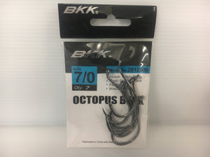BKK Bait Packs-Octopus Black Nickel