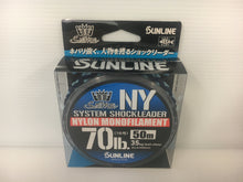 Load image into Gallery viewer, Sunline Saltwater Special System Shock Leader FC 50m