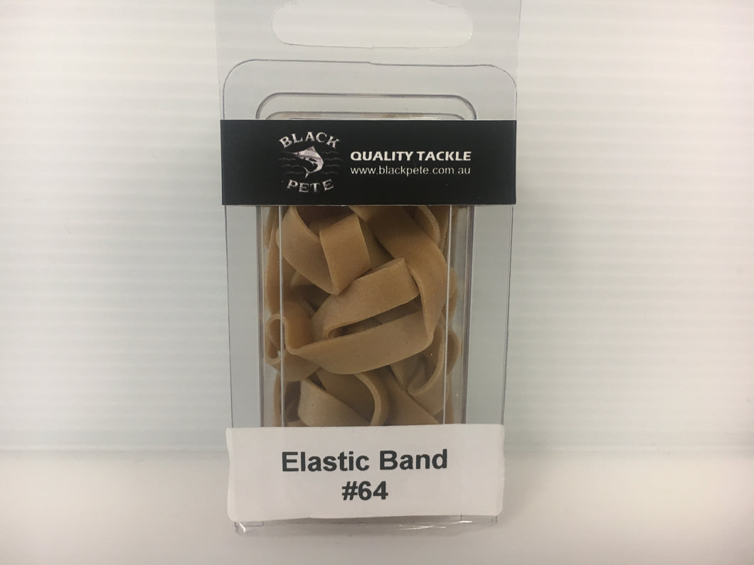 Black Pete #64 Elastic Bands x 20
