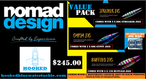 NOMAD DESIGN JIG VALUE PACK