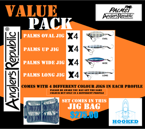 PALMS JIG VALUE PACK