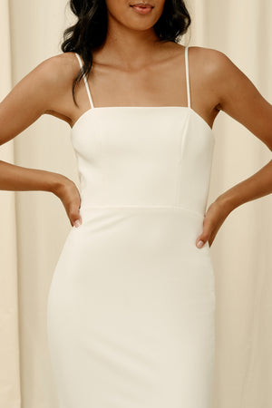 Sleek elegant wedding dresses in Vancouver BC
