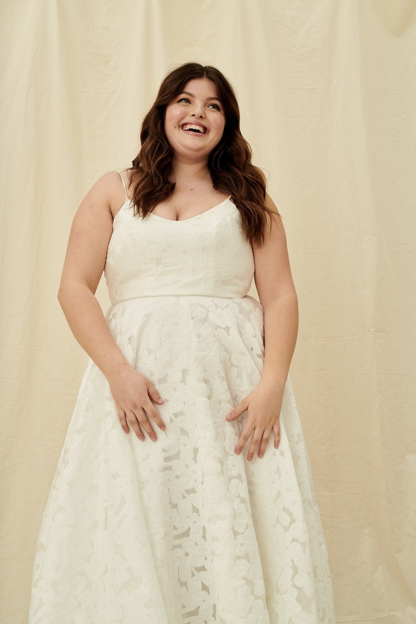 Affordable curvy plus size wedding dresses in Vancouver and Calgary