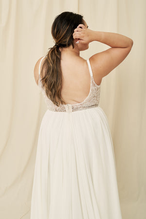 Affordable curve wedding dresses boutique in Vancouver, Calgary