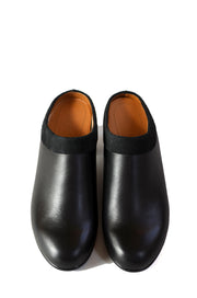 Collared Mule - Black