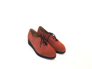 Modern Oxford - Rust Suede