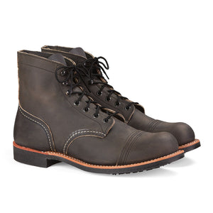 RED WING MEN'S IRON RANGER CHARCOAL