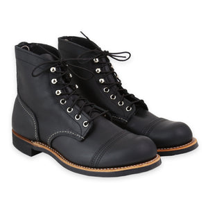 RED WING MEN'S IRON RANGER BLACK HARNESS