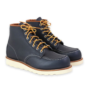 RED WING MEN'S MOC TOE NAVY PORTAGE