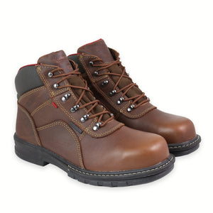 WOLVERINE WORK STEAL TOE METEOR FUSION BROWN
