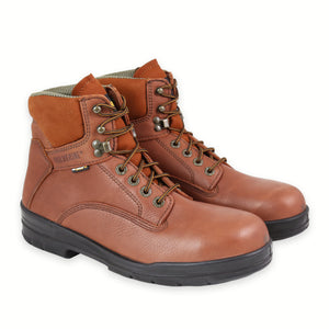 WOLVERINE WORK STEAL TOE DURASHOCK BROWN