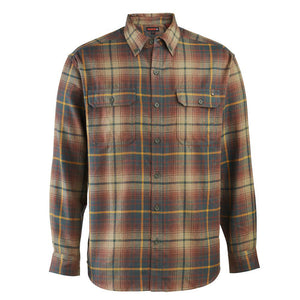 WOLVERINE LEGEND FLANNEL MOSS PLAID