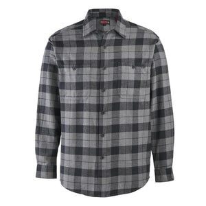 WOLVERINE LEGEND FLANNEL DARK GRAY PLAID