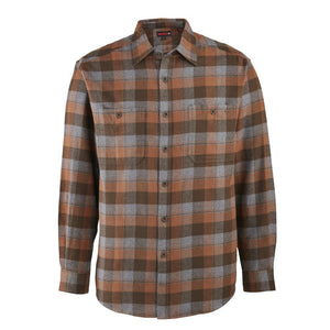 WOLVERINE LEGEND FLANNEL RUSSET PLAID