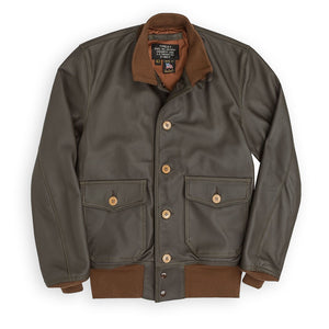 COCKPIT USA A-1 LEATHER FLIGHT JACKET