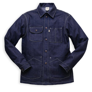 CHORE COAT STRETCH DENIM