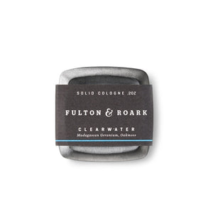 FULTON & ROARK SOLID COLOGNE CLEARWATER