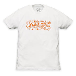 MEN'S RAILCAR TYPOGRAPHY LOGO TEE