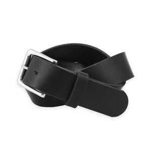 RAILCAR LEATHER BLACK BELT