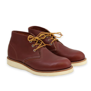 RED WING MEN'S CHUKKA COPPER WORKSMITH