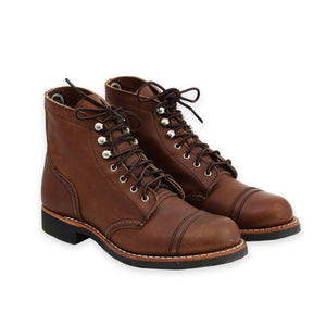 RED WING WOMEN'S IRON RANGER AMBER