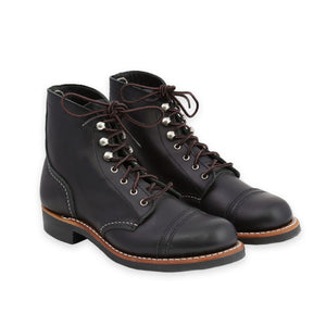 RED WING WOMEN'S IRON RANGER BLACK