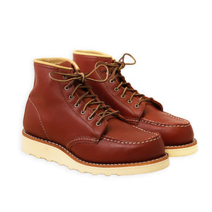 RED WING WOMEN'S CLASSIC MOC TOE COLORADO ATANADO LEATHER