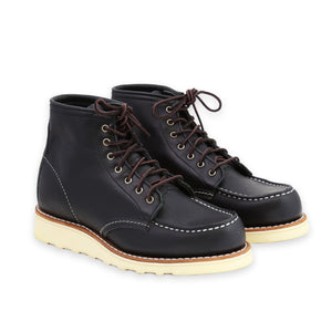 Red Wing Women's Classic Moc Toe Black Boundary