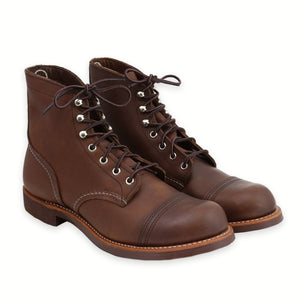 RED WING MEN'S IRON RANGER AMBER HARNESS