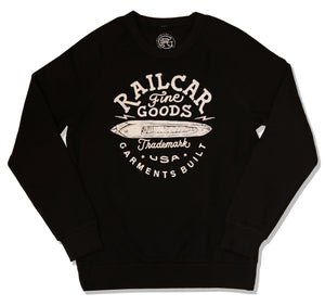 RAGLAN DISCHARGED SWEATER