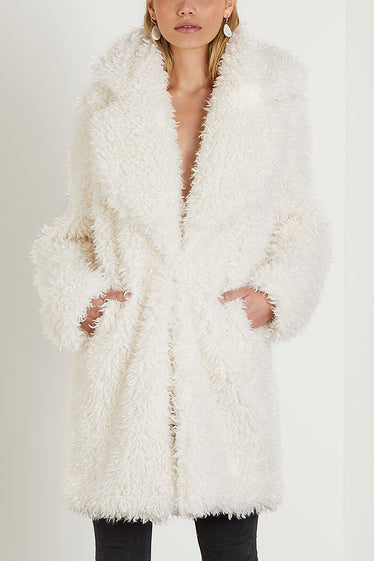 Zoey Coat Cream