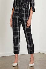 Echo Pant Noir Check