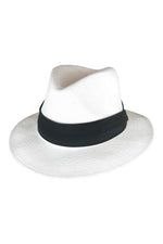 Lane Fedora - White