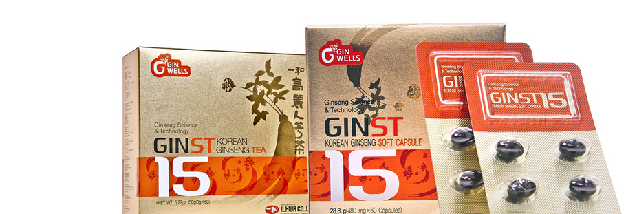 Newest Innovation in Ginseng: GinST-15
