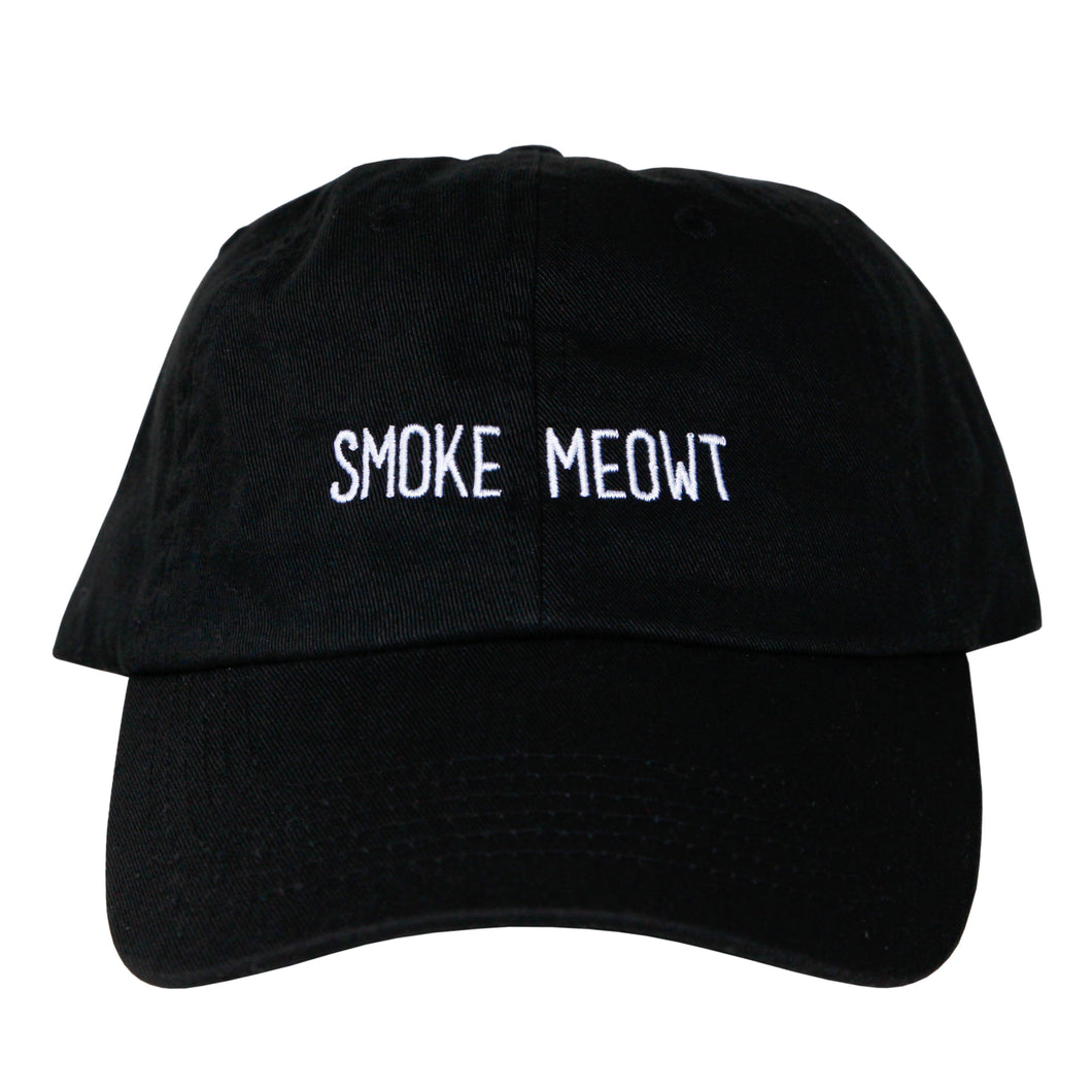 Smoke Meowt Dad Hat