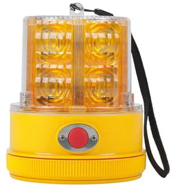 Peterson Beacon LED Strobe Amber Magnetic Light Sensing Battery Operated