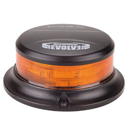 Roadvision LED Beacon Micro Revolver Series 10-30V Amber Magnetic Mount