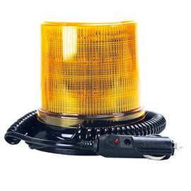 Roadvision LED Beacon RB130 Series 10-36V Amber Magnetic Mount Simulated Rotating