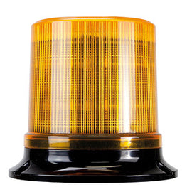 Roadvision LED Beacon RB130 Series 10-36V Amber Fixed Mount Simulated Rotating