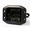 RoadvisionLED Work Light Square 40W Flood Beam Flush Mount