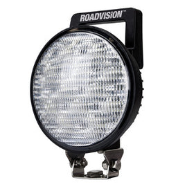 Roadvision Round LED Work Light 36W Flood Beam with Switch