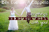 Everything's Better with You A Cappella Studio Chart