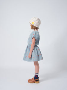 Poppy Prairie T-shape Dress