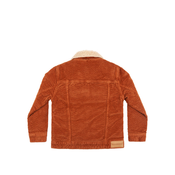 Oversized Jacket Leather Brown