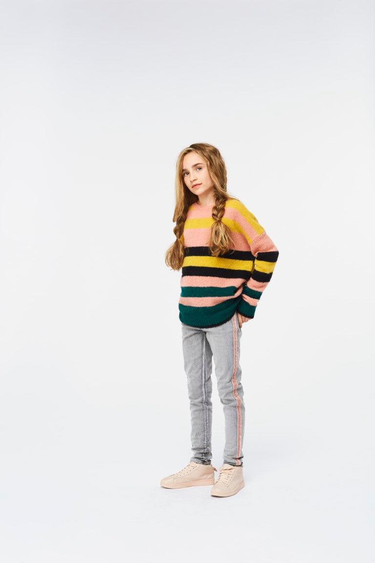 Sweater Iregular Stripe