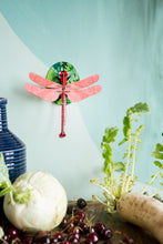 Afbeelding in Gallery-weergave laden, Little Wonders of Nature-Pink Dragonfly