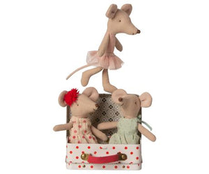 Ballerina mouse with 2 dresses