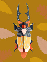 Afbeelding in Gallery-weergave laden, Totem Giant Stag Beetle, wall decor