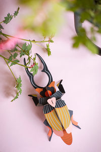 Totem Giant Stag Beetle, wall decor