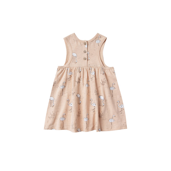 Dress flamingos